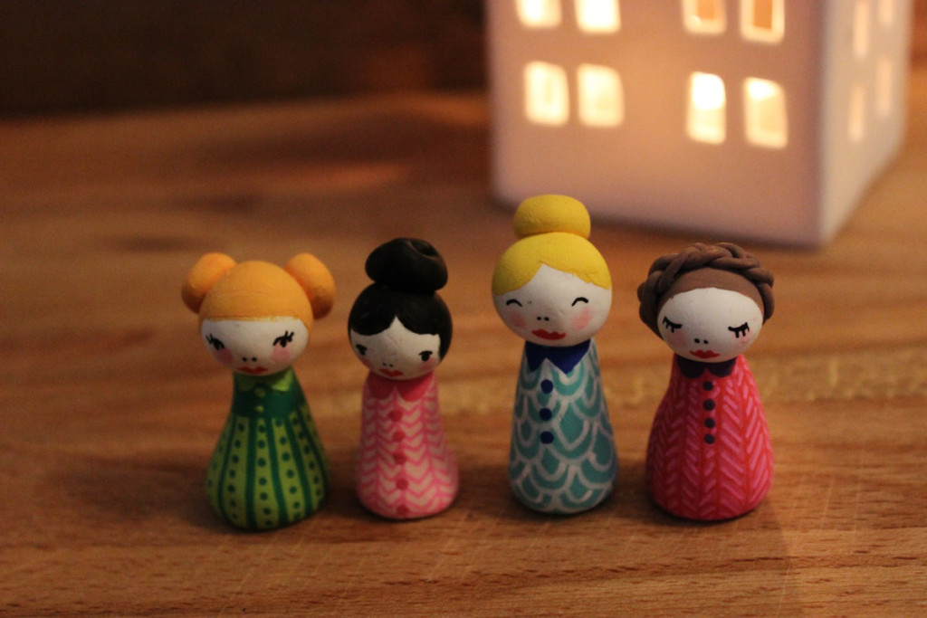 187 Diy Painted Polymer Clay Figures