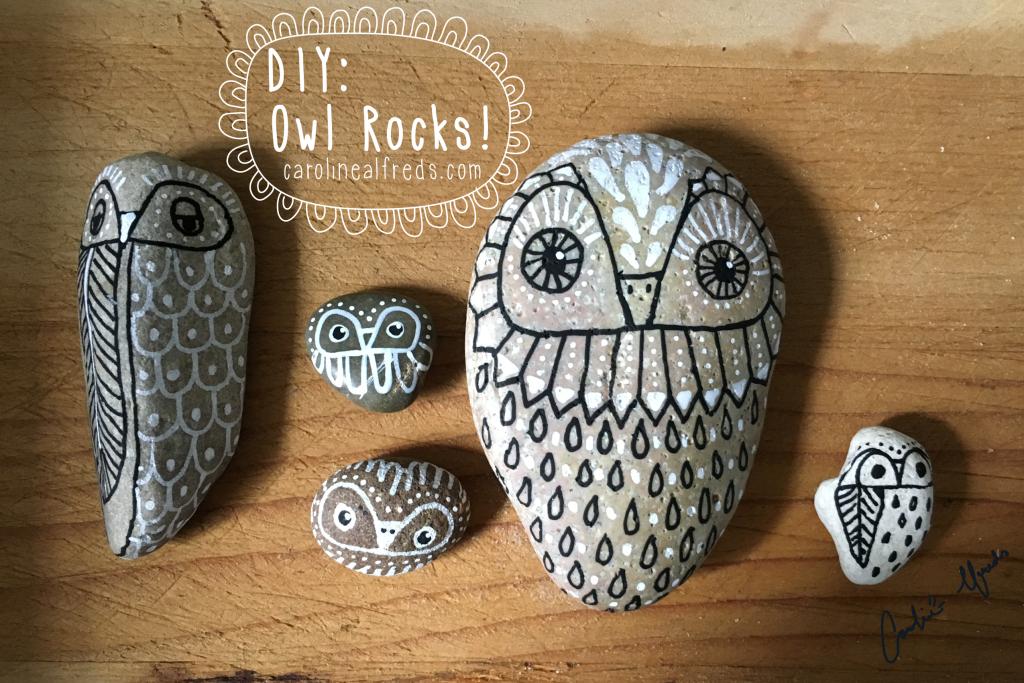 diy-hand-painted-owl-rocks