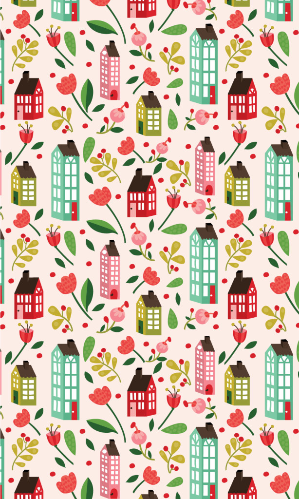 floral-houses-illustrated-seamless-pattern