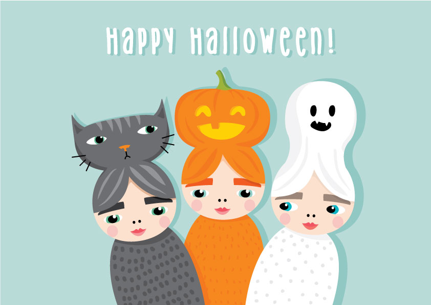 halloween-kids-illustration