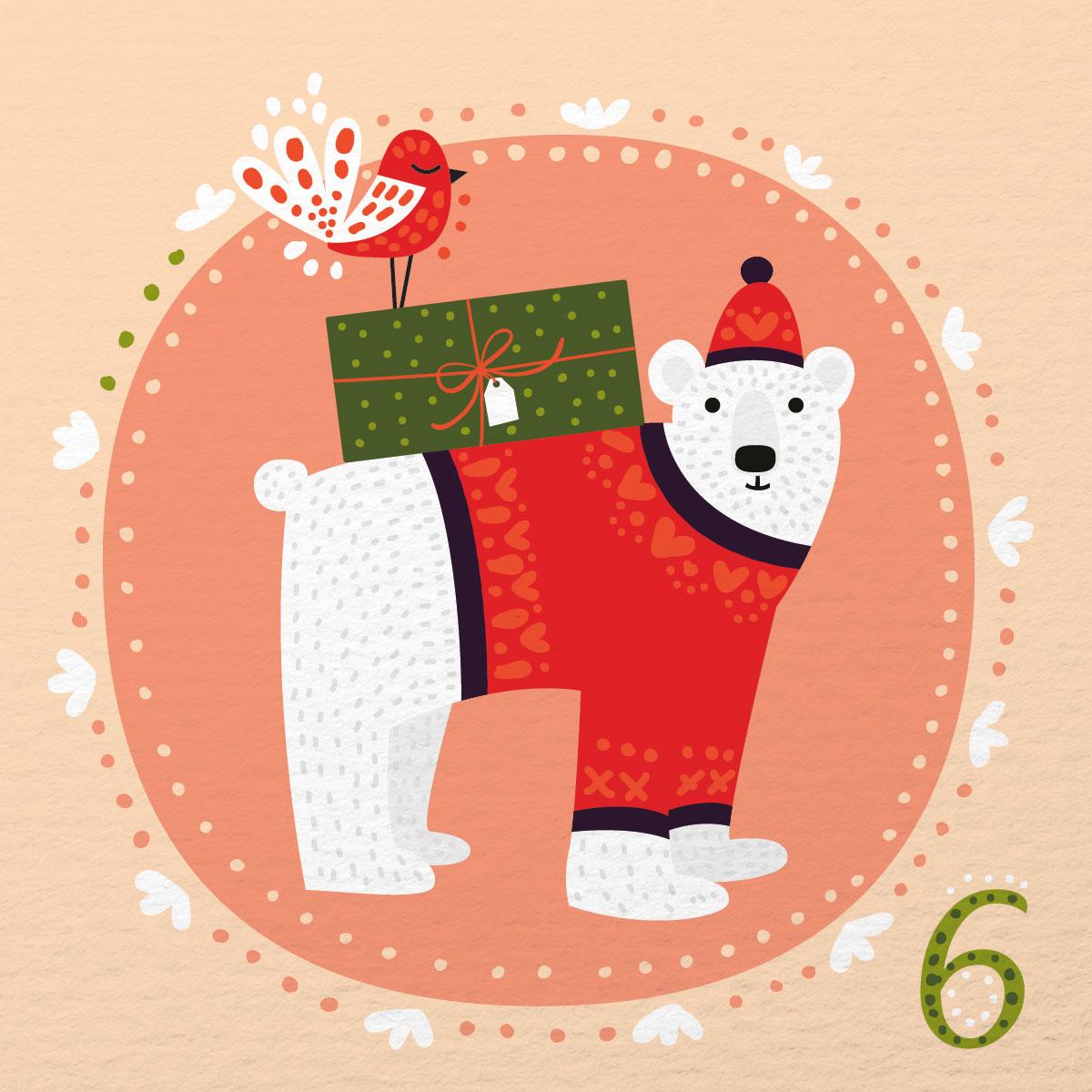 » Illustrated Advent Calendar: Day 6